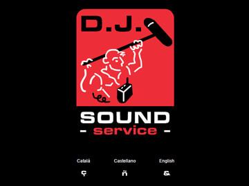 Página web para DJ. Sound Service