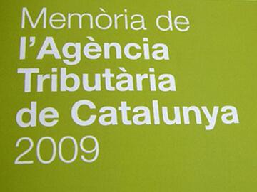Memòries anuals per a l'Agència Tributària de Catalunya