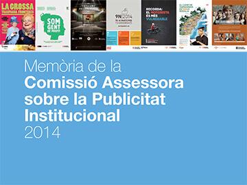 Memória de la Comisión Asesora sobre la Publicidad Institucional