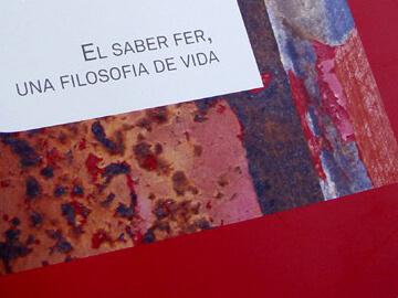 Disseny del tríptic de serveis de Vidal i Gomà
