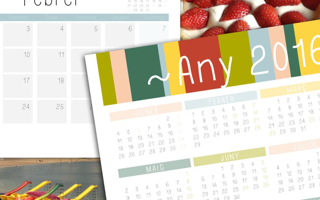 Calendaris de paret 2016
