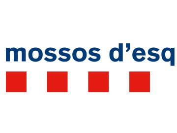 Carteles para las oficinas de los Mossos d'Esquadra