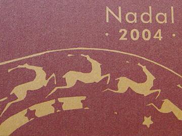 Diseño de varios trípticos y postales de navidad para ESCODI