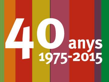 Nova imatge FAPAC 40 anys i tríptic promocional