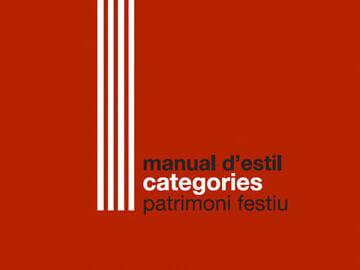 Nova imatge gràfica de les cinc categories de patrimoni festiu