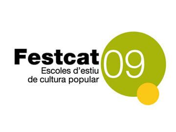 Diseño de la campaña gráfica Fescat 2009
