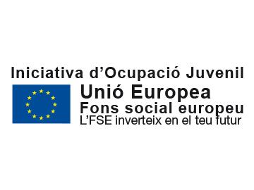 Nou logotip d'Iniciativa d'Ocupació Juvenil