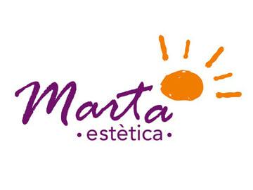 Nueva imagen gráfica de Marta Estètica