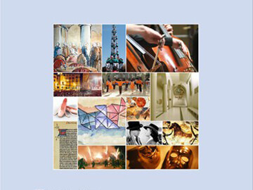 Diseño de las portadas de los premios literarios y del calendario cultural