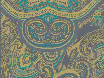 Colección de pañuelos de cashemir