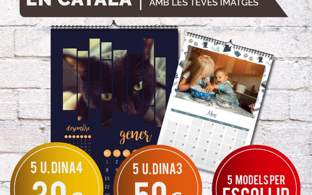 Regala calendarios personalizados!