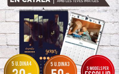 Regala calendaris personalitzats en català!