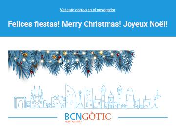 Felicitació de Nadal per correu electrònic